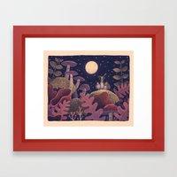 Night Music Framed Art Print