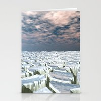 Fragmented Landscape Stationery Cards