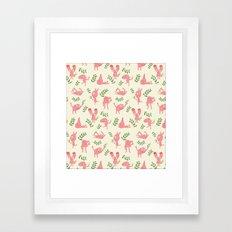 MUR´S SPRING Framed Art Print