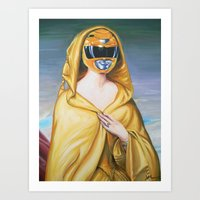 Portrait Of A Yellow Ran… Art Print