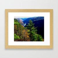 Pennsylvania Grand Canyo… Framed Art Print