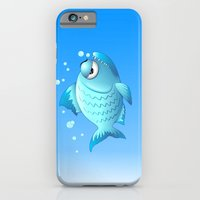 Grumpy Fish Cartoon iPhone 6 Slim Case