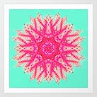 Sprawl Art Print