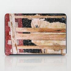 virgin wool iPad Case