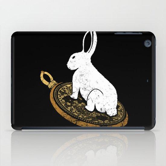 Follow The White Rabbit iPad Case