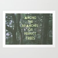 Perfect Branches  Art Print