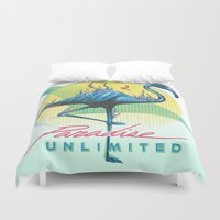 Paradise Unlimited Duvet Cover