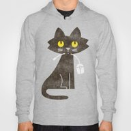 Fitz - Hungry Hungry Cat… Hoody