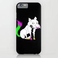 iPhone Cases featuring Fox by mailboxdisco
