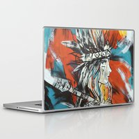 indian Laptop & iPad Skins featuring Indian by ketizoloto