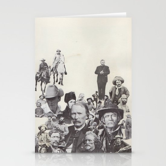 go west young man Stationery Card