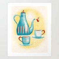 Time for Tea! Art Print