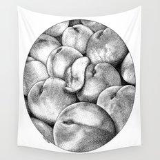 asc 628 - Les pêches de l'empereur (More juicy fruits) Wall Tapestry
