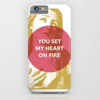 iPhone & iPod Case featuring You set my heart on fire by NeilRobertLeonard