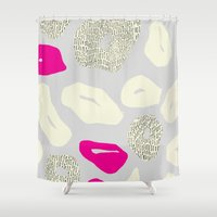 Leopard print 2 Shower Curtain