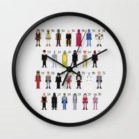 The Dark Side Alphabet Wall Clock