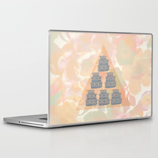 Cake and Flowers Laptop & iPad Skin