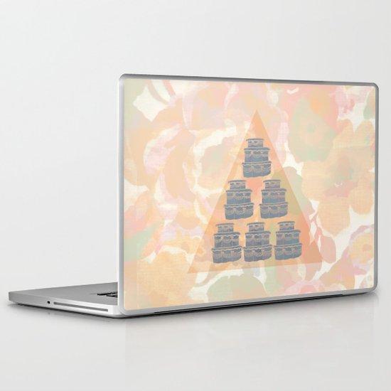 Cake and Flowers Laptop & iPad Skin