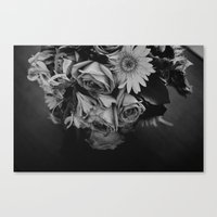 Nostalgia In Black And W… Canvas Print