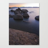 Bonsai Rocks Canvas Print
