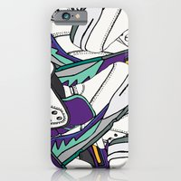 JRDN V GRAPE iPhone 6 Slim Case