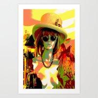 Vintage: Mad Hatter Art Print