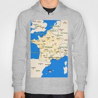 France map design Hoody