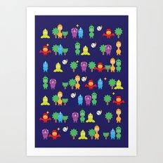Dinosaurs! Art Print