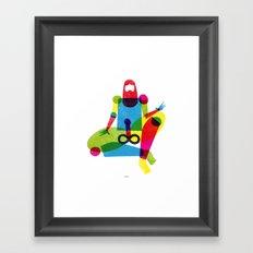 INFINITY MAN Framed Art Print