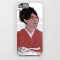 iPhone & iPod Case featuring Utsukushii by Lowercase Industry