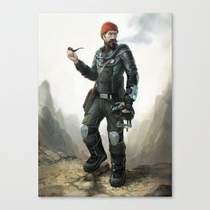 Hollow Earth Explorer Canvas Print