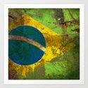 Where is the Brazil? Art Print