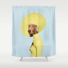 Mrs. Submarine Shower Curtain