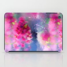 Spring floral paint 1 iPad Case