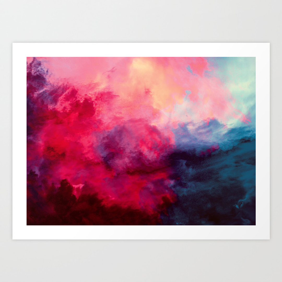 Abstract, Painting and Photography Art Prints   Society6 - photo #15