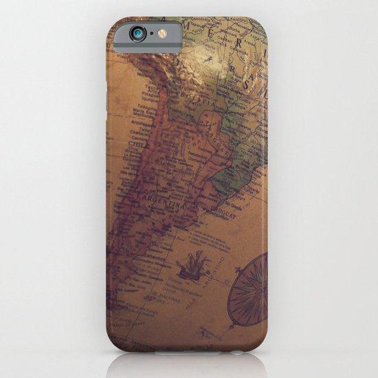 Globe Map iPhone & iPod Case