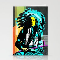 Indian Pop 8 Stationery Cards