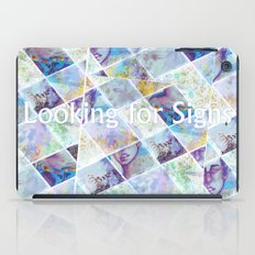 Looking for Signs iPad Case