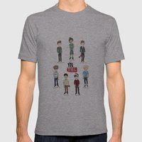 Youtube Boys  Mens Fitted Tee Athletic Grey SMALL