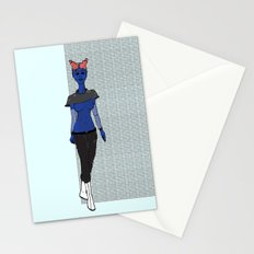 Galactic Street Queen; Martian Babe Stationery Cards