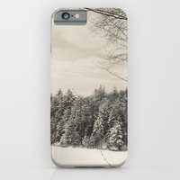 iPhone & iPod Case featuring Peaceful Winter Snows  by Jean Ladzinski