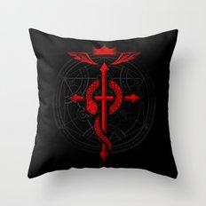 Full of Alchemy - Fullmetal alchemist Throw Pillow