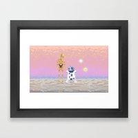 The Droids Framed Art Print