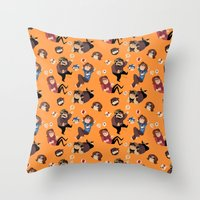 Game Grumps Pattern Throw Pillow