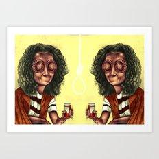 Medicated Art Print