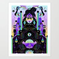 Art Print featuring After Midnight by Súa Agapé