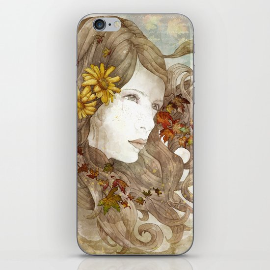 As Much as I Love Autumn iPhone & iPod Skin