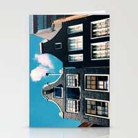 oh those houses ^_^  Stationery Cards