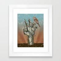 Dawn of the Living Framed Art Print