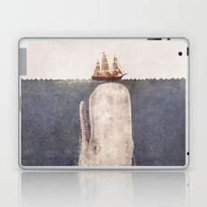 The Whale - exclusive purple variant  Laptop & iPad Skin